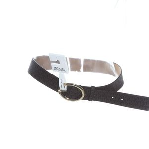 Michael Kors Signature Chocolate Belt L